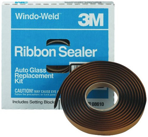 "3M Window-Weld 3/8"" x 15' Round Ribbon Sealer Kit"