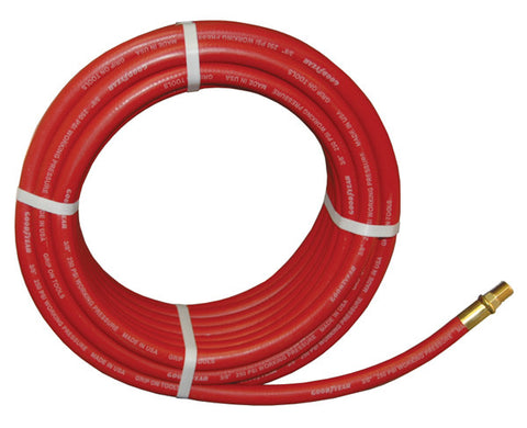 "ATD-8151 3/8"" x 50 ft. GoodYear® Two-Braid Rubber Air Hose"