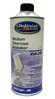 RSA-226  Clearcoat Activator Medium