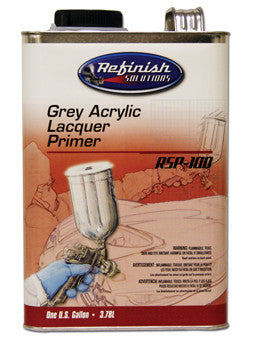 RSP-100 Acrylic Lacquer Primer Grey