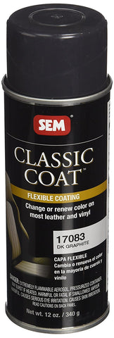 SEM 17083 Dark Graphite Classic Coat - 12 oz.