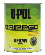 U-Pol UP0749 Gripped Body Filler, Gray