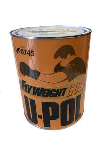 U-Pol 0745 FLYWEIGHT GOLD Lightweight Body Filler - 3L
