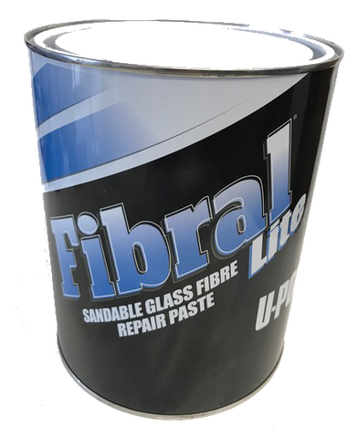 U-POL Fibral Sandable Glass Fibre Repair Paste, UPO766/UPO700