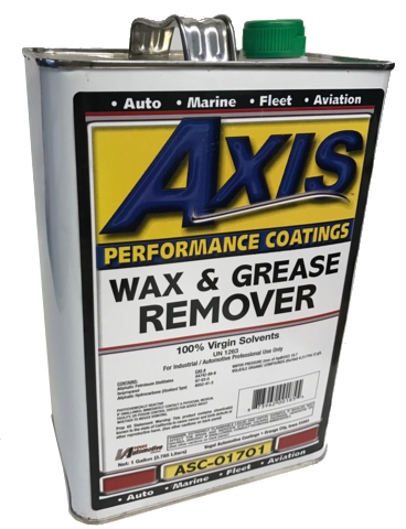 Axis Wax & Grease Remover, ASC-0170-1