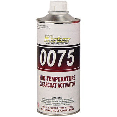 0075QT KIRKER CLEARCOAT ACTIVATOR-MEDIUM - QT