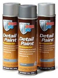 POR-15® Detail Paint, Metal Restoration Paint