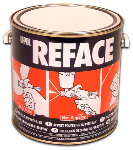 U-Pol 733 Reface Primer Filler Putty - 2.5L