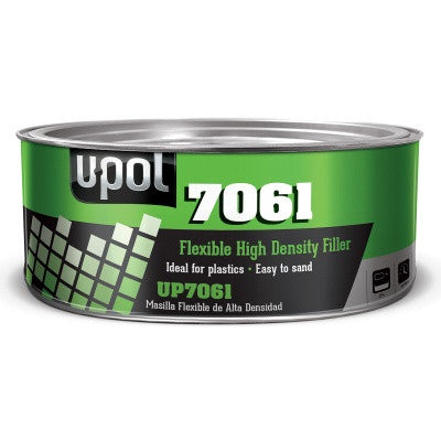 UP7061 Tin Black Smooth High Density Body Filler for Plastics - 600 ml