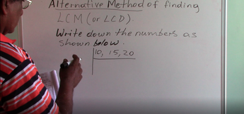 Grade 6 & 7 - Multiples (LCM - Alternative Method)