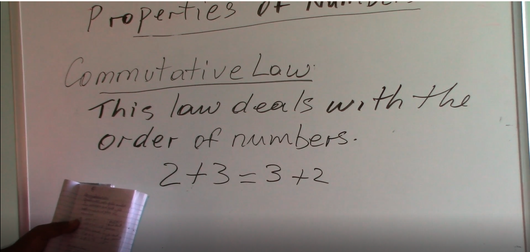Grade 7 & 8 - Properties of Numbers (Commutative Law)