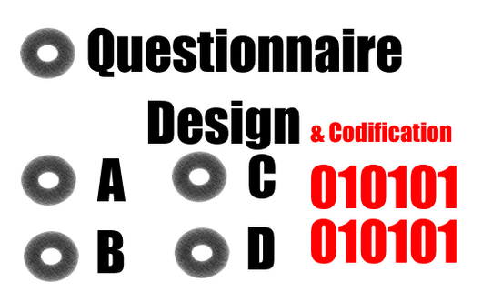 Questionnaire Design and Codification of Questionnaire - 5 Questions
