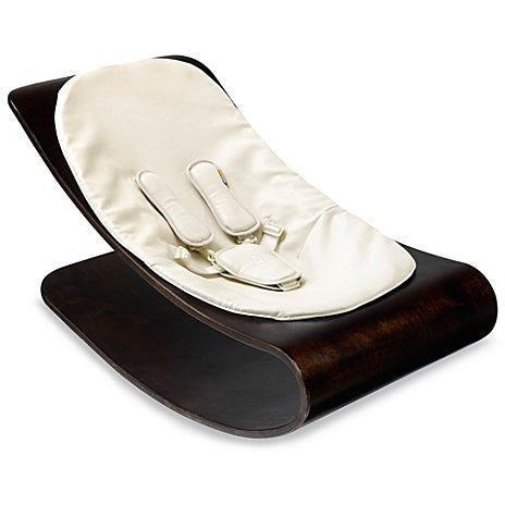 Bloom Coco Stylewood Cappuccino Lounger in Coconut White - Le Bebe Chic
