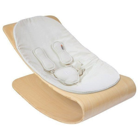 Bloom Coco Stylewood Natural Lounger in Coconut White - Le Bebe Chic