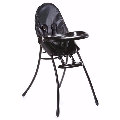 Bloom Nano Urban Flat Fold High Chair Black Frame Limited Edition - Le Bebe Chic
