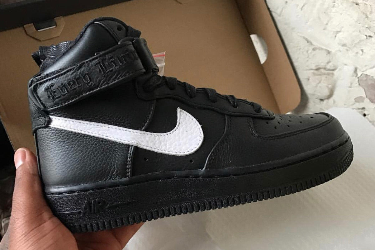 A$AP Bari Gives Us a Look at the VLONE x Nike Air Force 1 London Exclusive