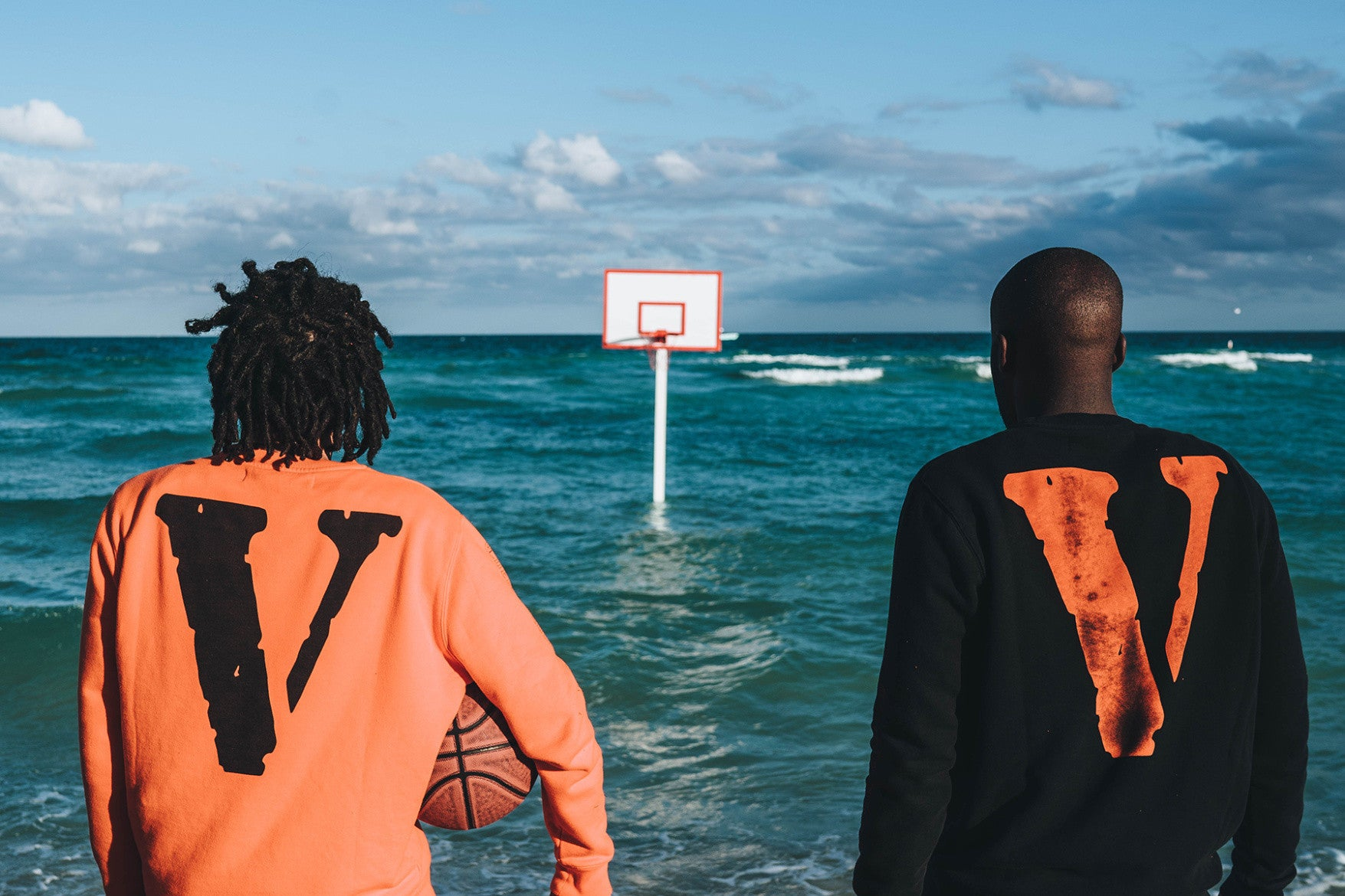 A$AP Bari Unleashes VLONE x OFF-WHITE Sweatsuits on Day Three of Art Basel Miami