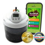 MudWatt:  Grow a Living Fuel Cell