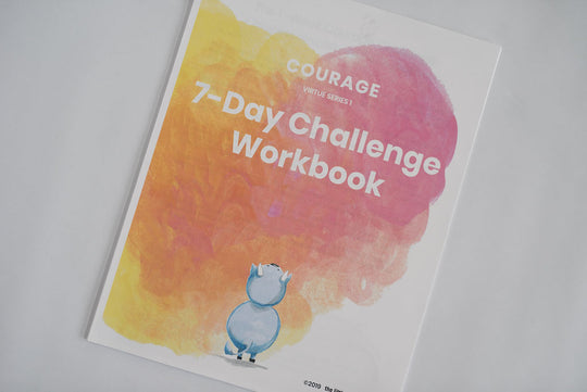 Courage PDF 18-page workbook (digital file) - Virtue Series 1