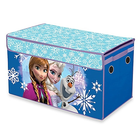 Disney Frozen Snowflake Collapsible Storage Trunk 16 x 14 x 30
