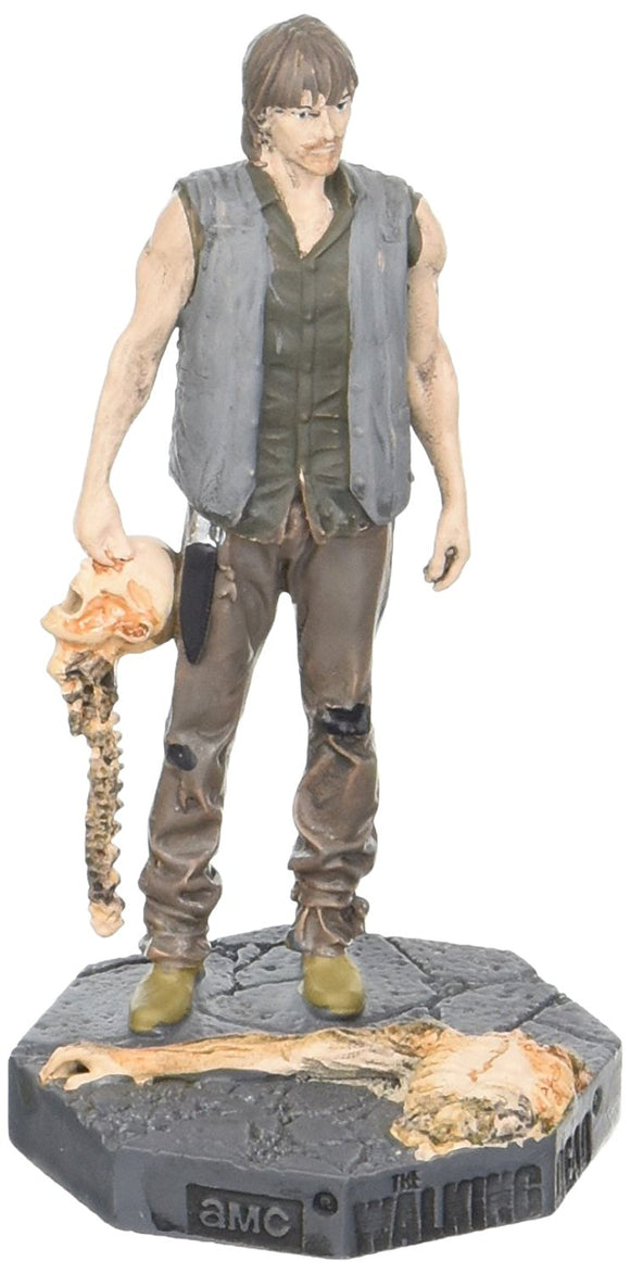 Walking Dead Collector's Models Daryl Bowling Ball Version Figurine Eaglemoss