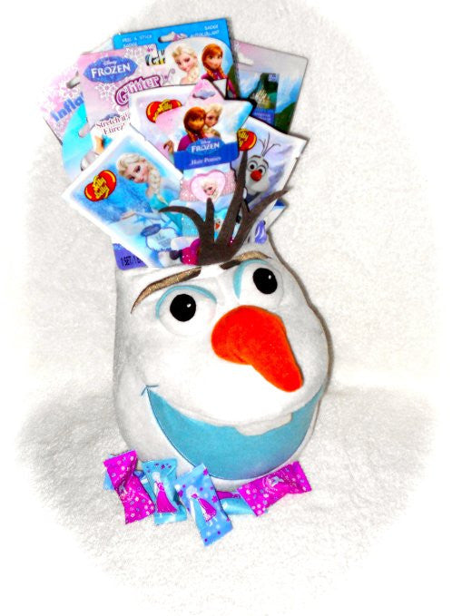 Disney Frozen Gift Baskets Christmas, Birthday, Get Well for Girls/ Boys 3-8