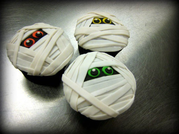Halloween Mummy Assorted Cupcakes