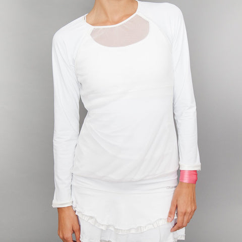 Basics Sheer-body Top