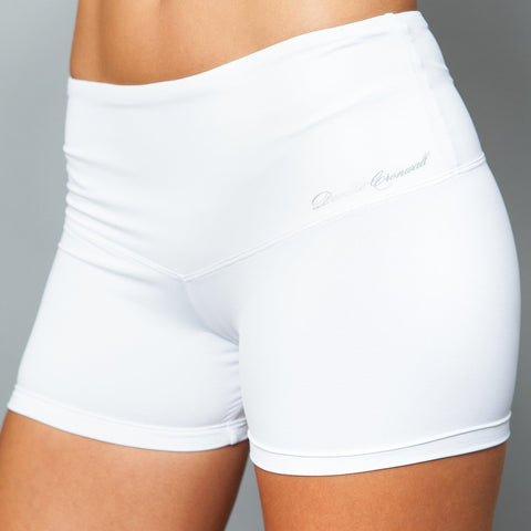 Denise Cronwall Basic Shorty (black, white, peach, purple or pink)