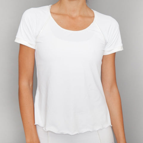 Denise Cronwall Basics Cap-Sleeve Top