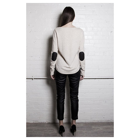 ANJÉ The Elbow Pad Sweater