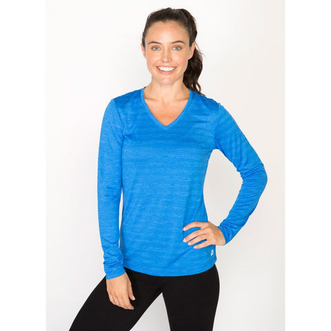 RBX Active Stratus Striped Long Sleeve Tee