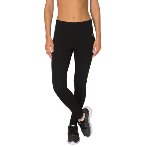 Cotton Spandex Full Length Workout Legging