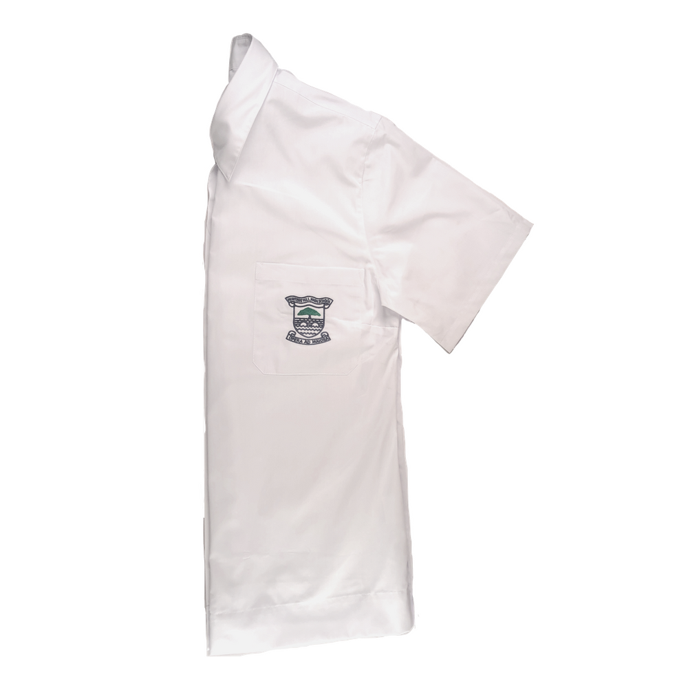 HHHS Mens White Shirt (with crest) Years 11-12
