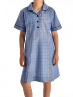 Basic Blue Tartan - Summer School Dress