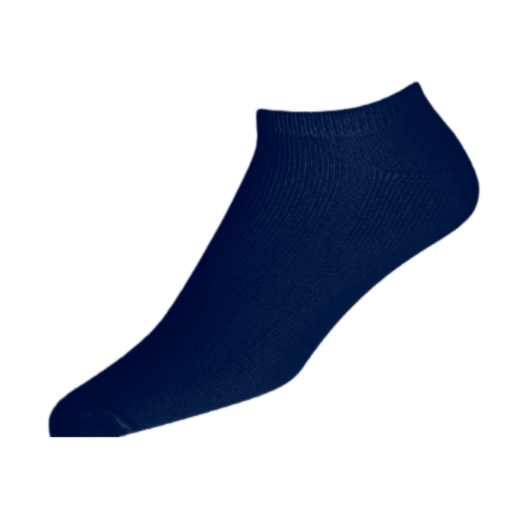 Adults 3PK 'Loopy' Navy Sport Socks