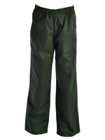 Bottle Green Gaberdine Double Knee Pants