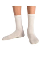 3PK White Ankle Super-Soft Bamboo School Socks