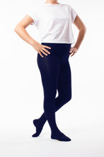 My Bamboo School Tights Kids - Navy