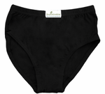 Super Soft Black Bamboo Underwear Children's Sizes 4-16