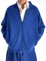 Royal Super Soft Zip Sweat