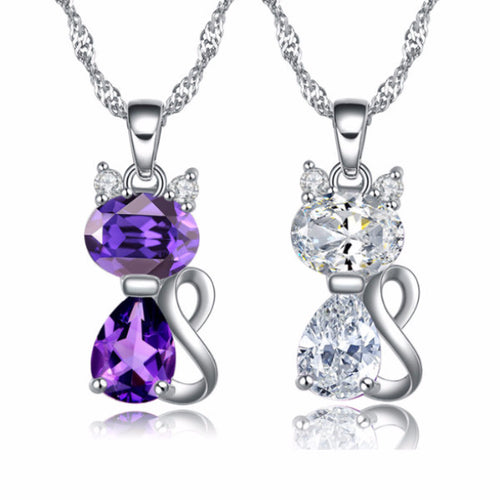 Beautiful Cat Pendants Jewelry