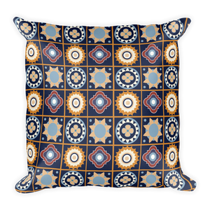 Agadir Moroccan Square Pillow