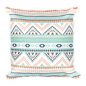 Tenayuca Aztec Square Pillow