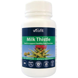 Vitafit Milk Thistle 80caps