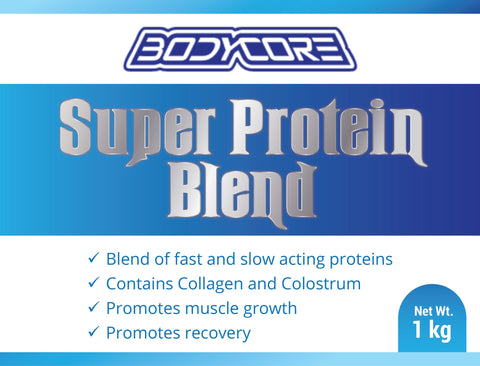 Bodycore Super Protein Blend-  1 kg