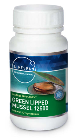 Lifespan Greenlipped Mussels 60caps