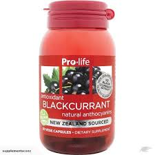 Prolife Antioxidant Blackcurrant 30caps