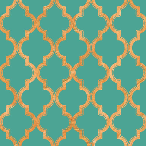 Art paper co removable wallpaper for Moroccan style wallpaper