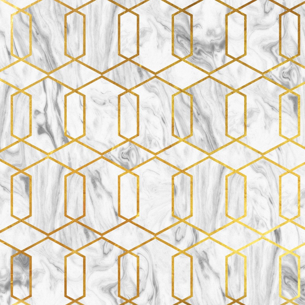 Marble Gold Geo